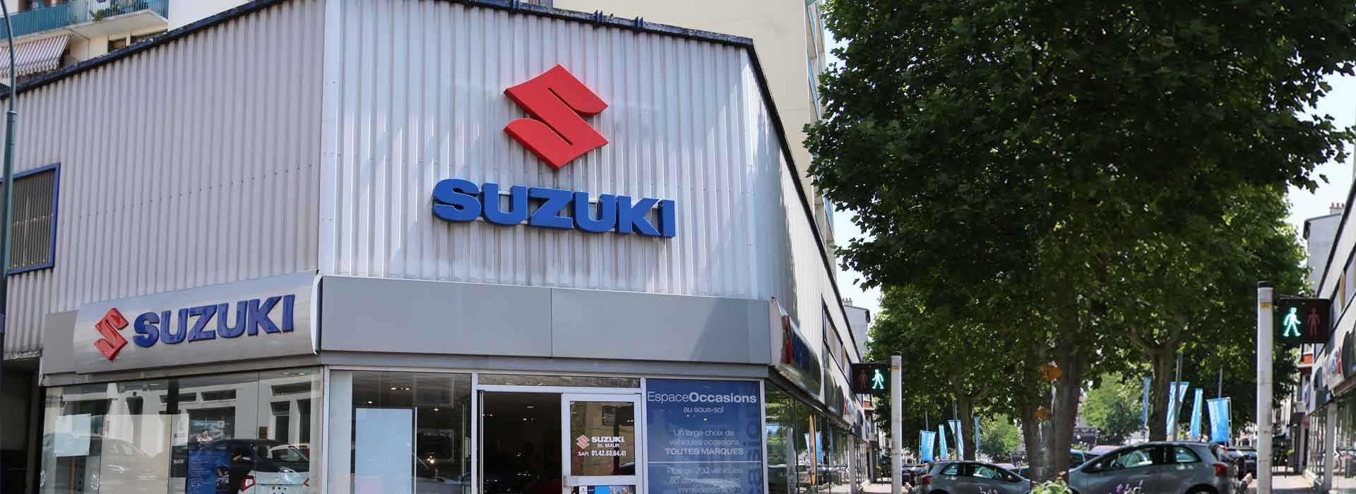 Suzuki saint maur des foss s concessionnaire garage for Garage diderot coquelin saint maur