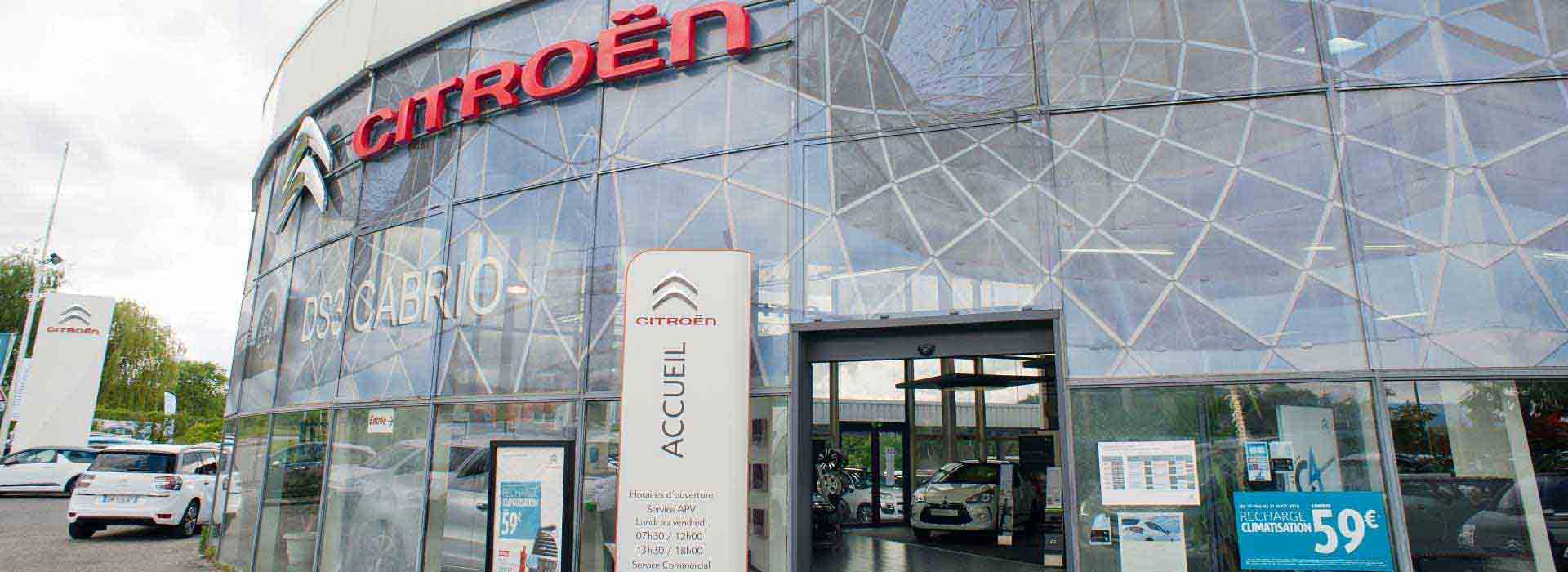 Citroen thonon les bains concessionnaire garage for Garage citroen thonon