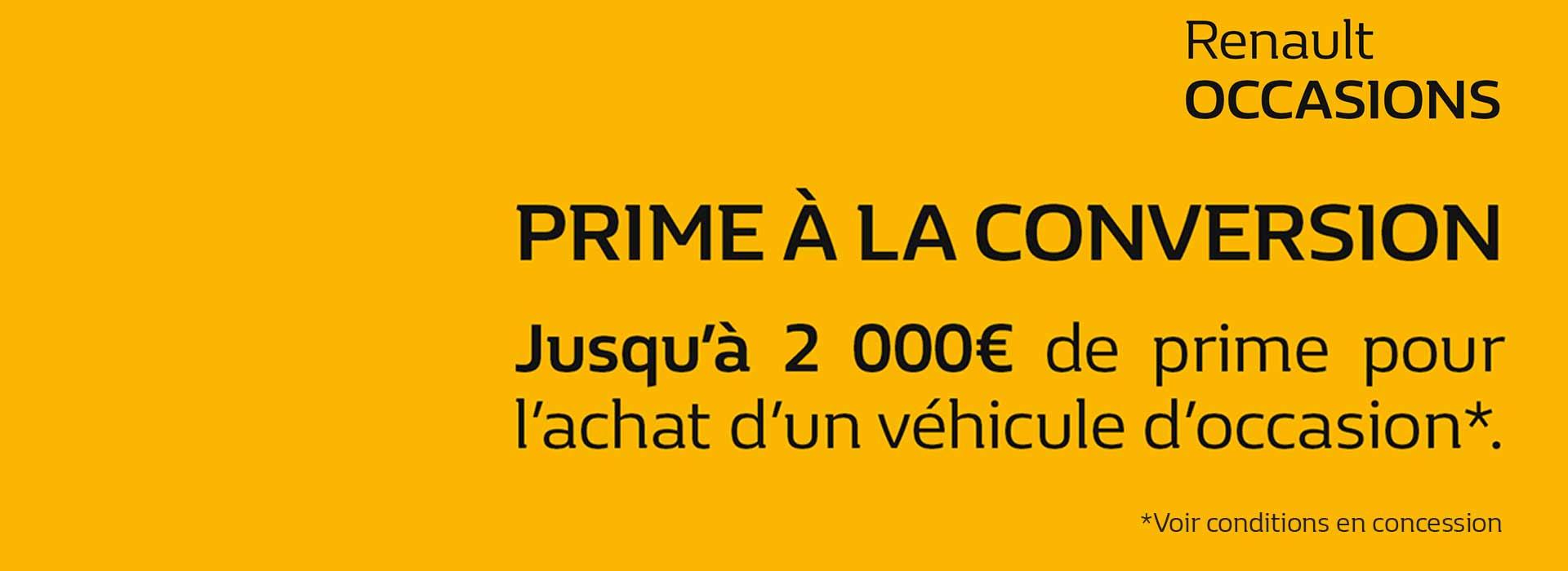 Renault marignane concessionnaire garage bouches du for Garage prime conversion
