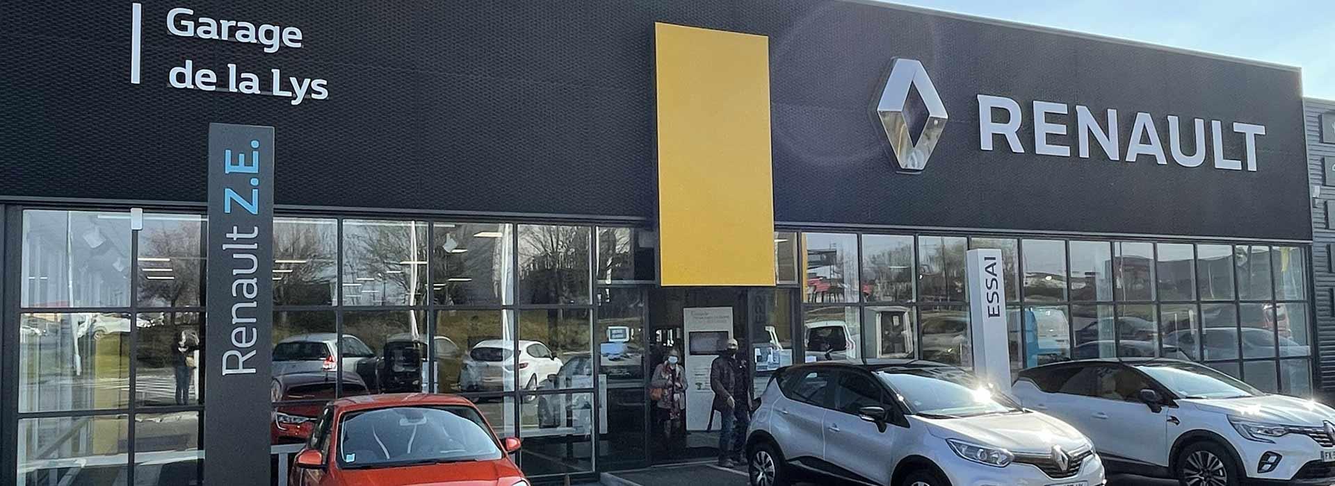 Renault englos concessionnaire garage nord 59 - Garage renault ivry sur seine ...