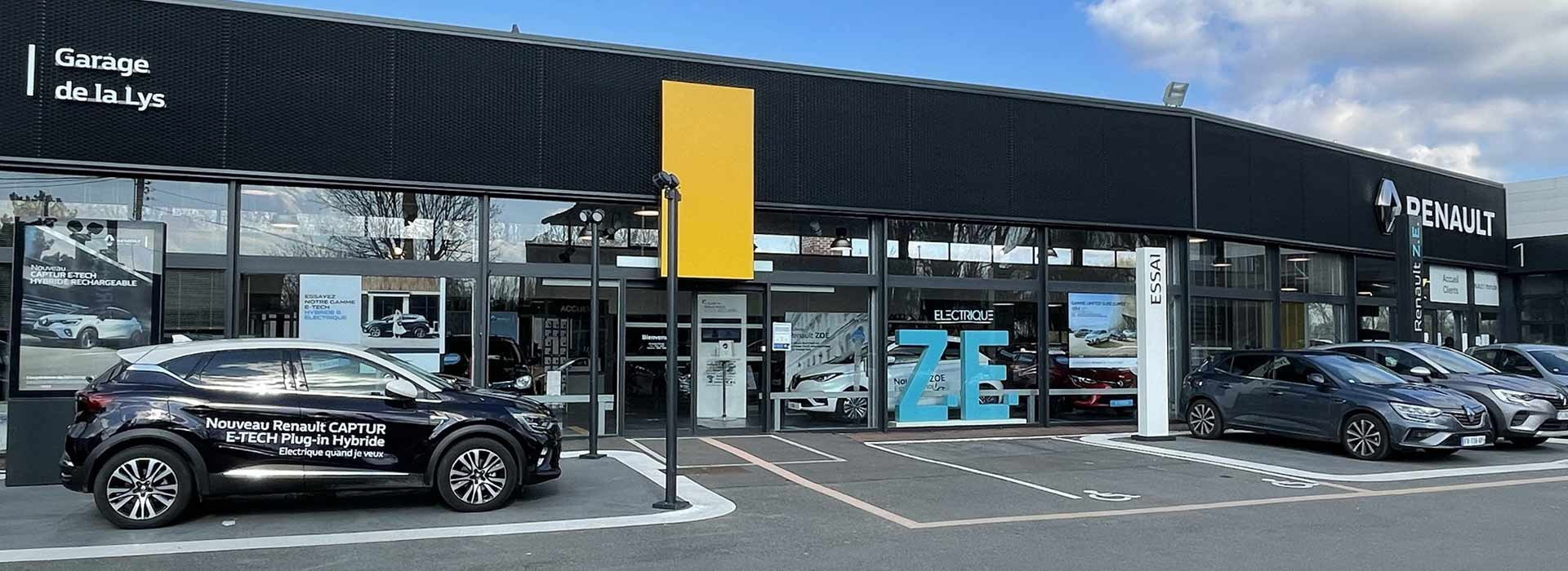 Renault nieppe concessionnaire garage nord 59 for Garage renault beaurepaire