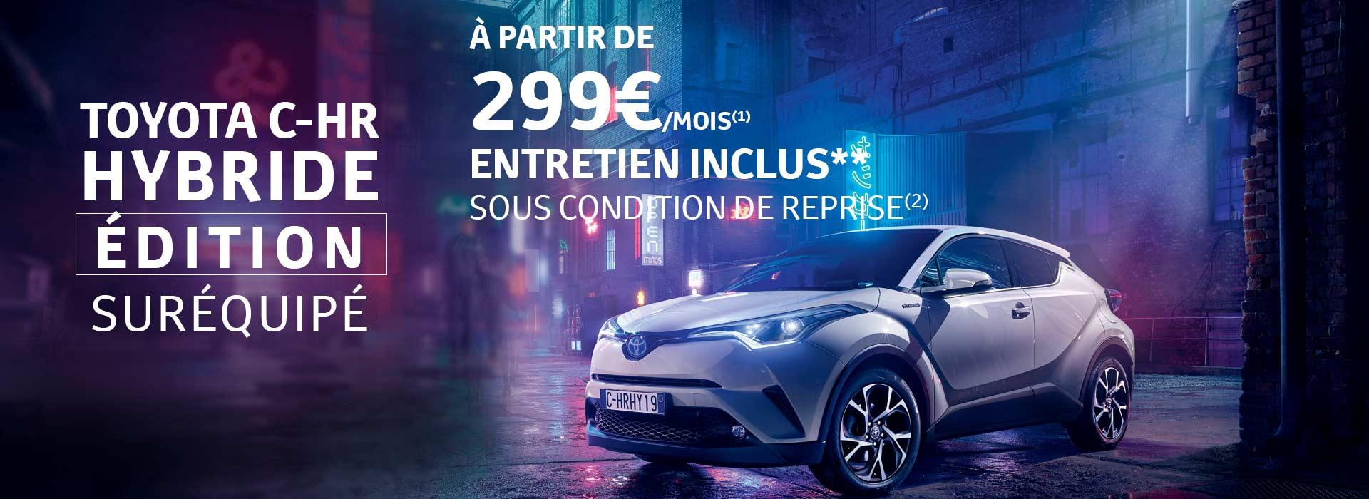 Toyota C HR Dition Surquipe