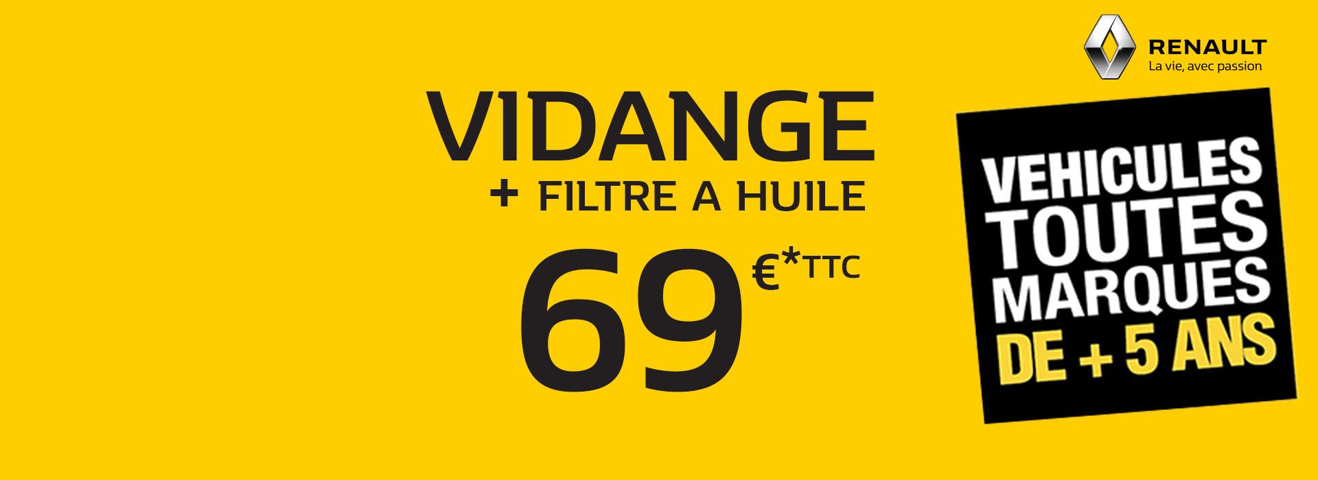 Renault marignane concessionnaire garage bouches du for Vidange garage renault