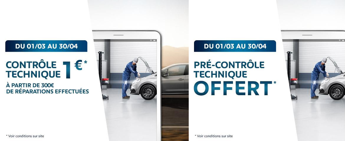 contr le technique promotions chez votre concessionnaire peugeot pontivy. Black Bedroom Furniture Sets. Home Design Ideas