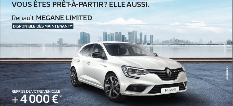 Megane Prêt à partir   Promotions chez votre concessionnaire Renault ... e36e0c94a2fc