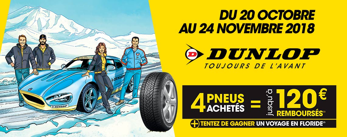 pneus dunlop du 22 octobre au 24 novembre 2018 promotions chez votre concessionnaire renault. Black Bedroom Furniture Sets. Home Design Ideas