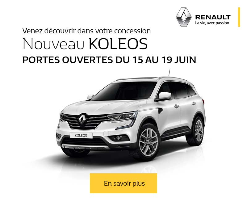 portes ouvertes promotions chez votre concessionnaire renault saint germain en laye. Black Bedroom Furniture Sets. Home Design Ideas