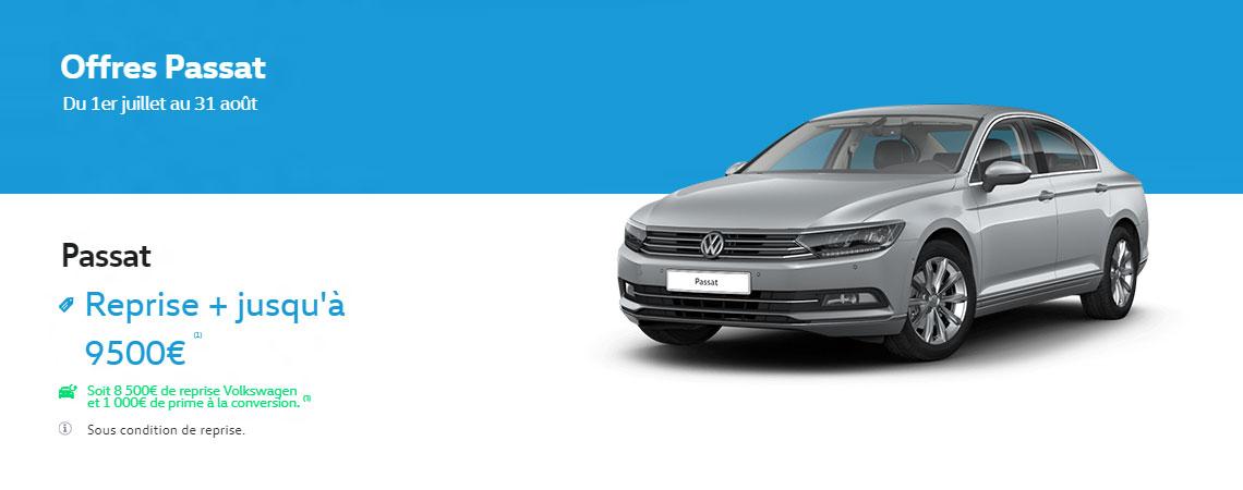 volkswagen passat reprise jusqu 39 9500 1 promotions chez votre concessionnaire volkswagen. Black Bedroom Furniture Sets. Home Design Ideas