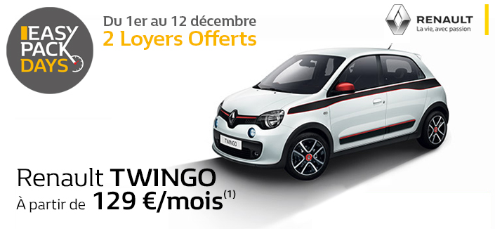 twingo easy pack renault chartres. Black Bedroom Furniture Sets. Home Design Ideas