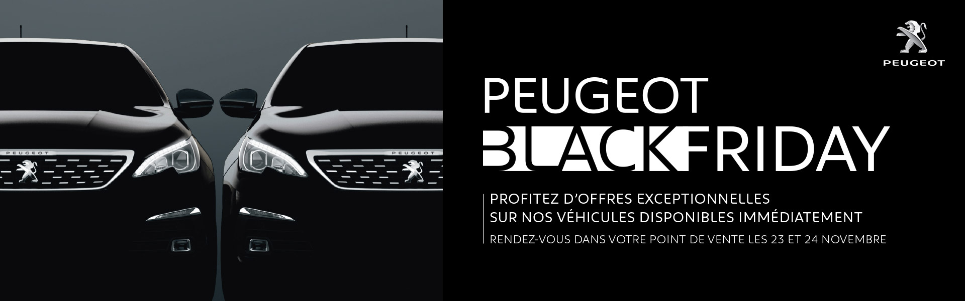 black friday peugeot peugeot fontainebleau. Black Bedroom Furniture Sets. Home Design Ideas
