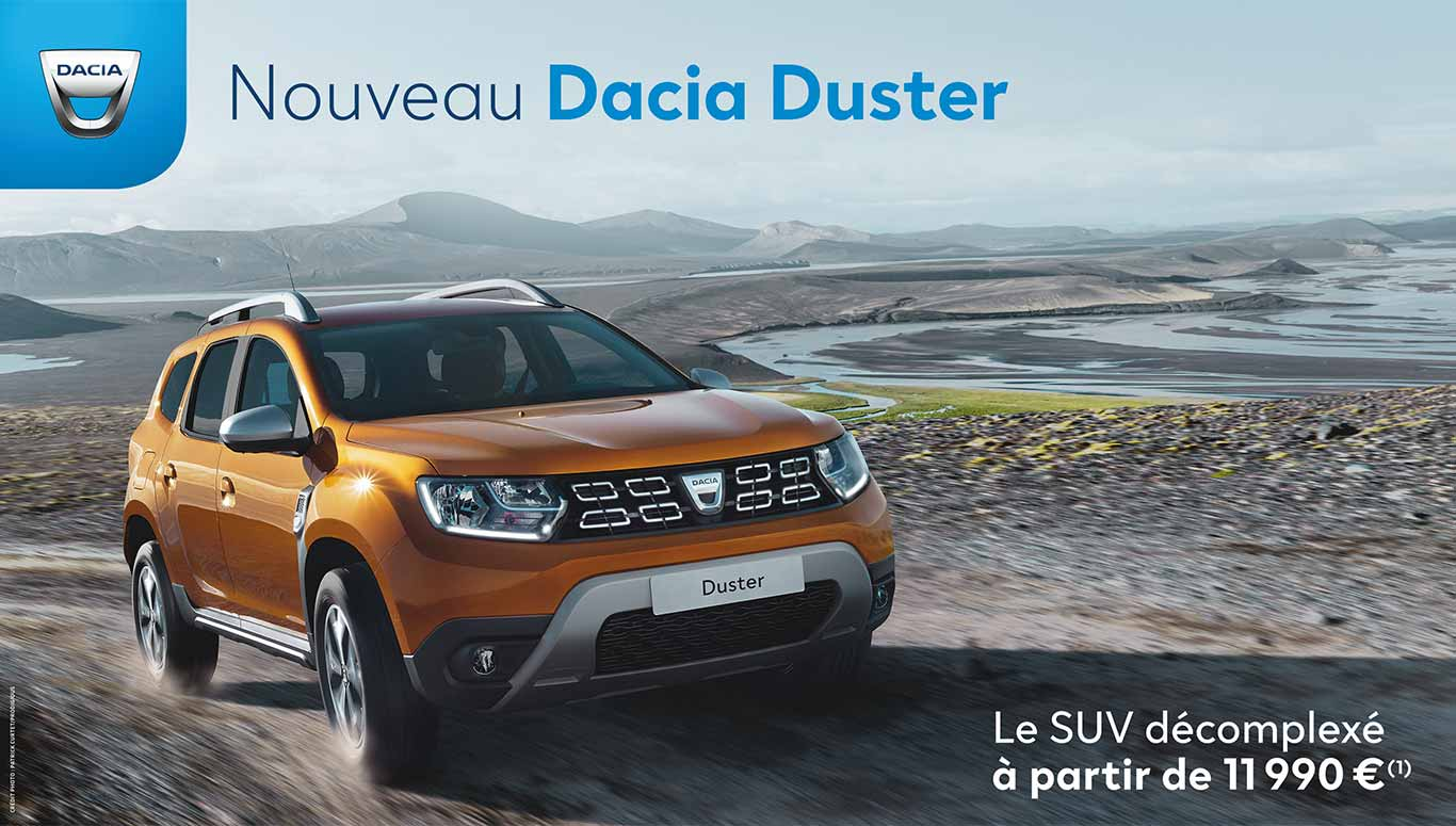 nouveau dacia duster est arriv dans votre concession dacia renault saint germain en laye. Black Bedroom Furniture Sets. Home Design Ideas