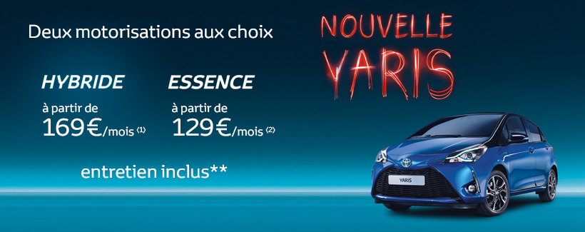 nouvelle toyota yaris toyota chartres. Black Bedroom Furniture Sets. Home Design Ideas
