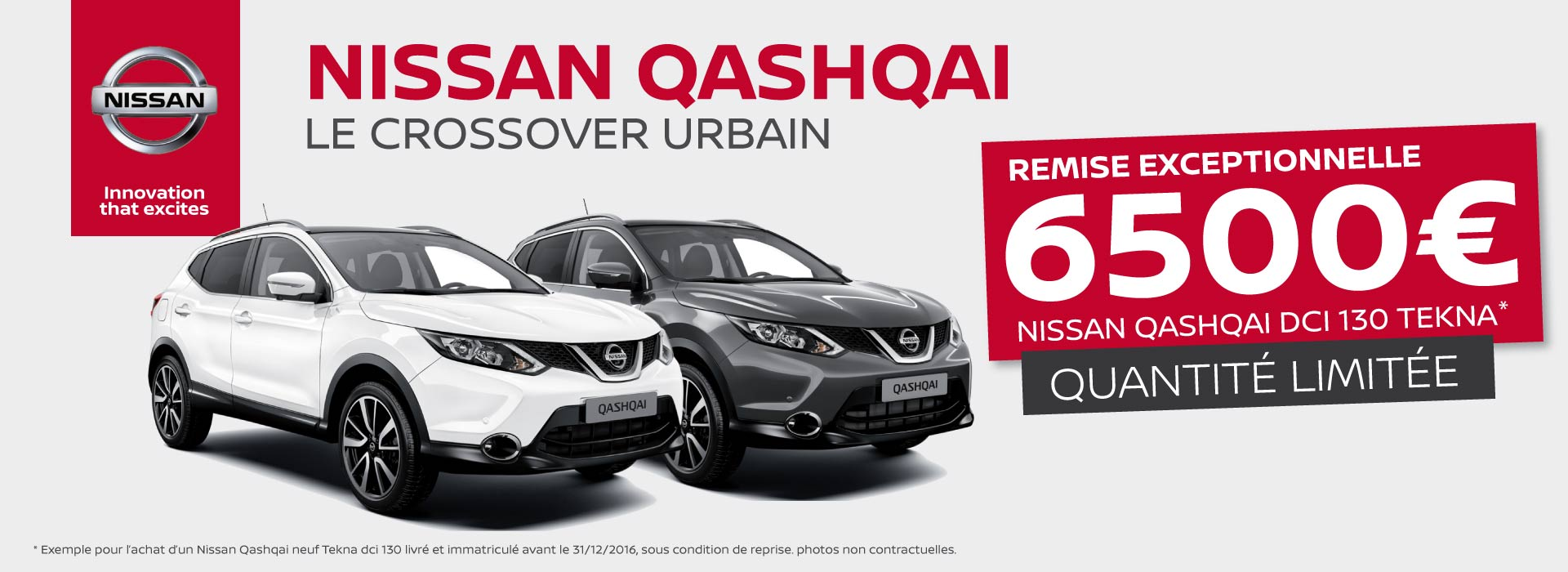 offre nissan qashqai nissan roncq. Black Bedroom Furniture Sets. Home Design Ideas