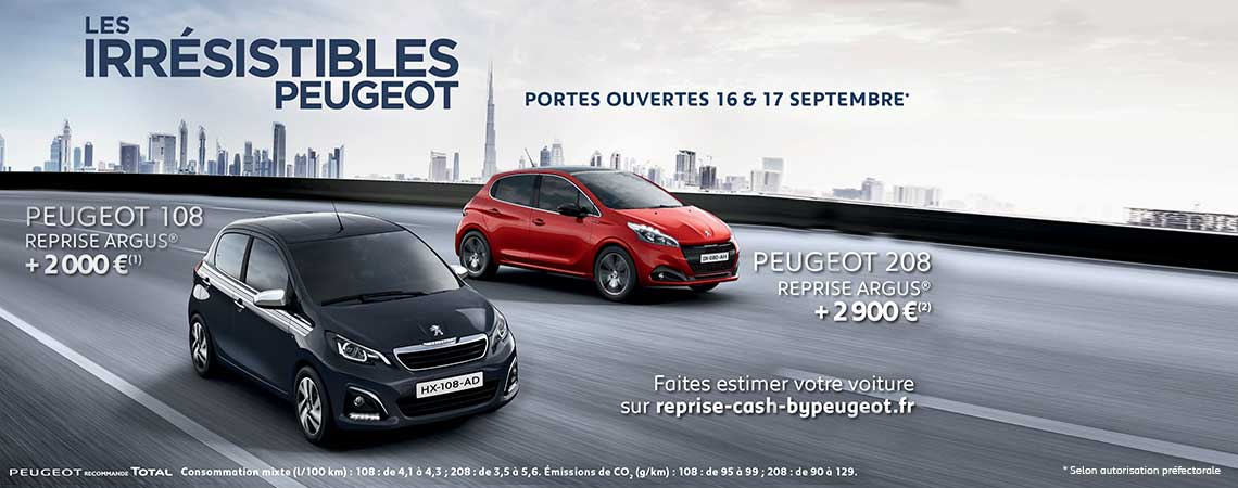 portes ouvertes peugeot peugeot clermont ferrand. Black Bedroom Furniture Sets. Home Design Ideas