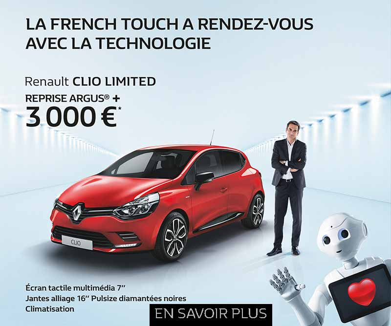 promotion clio limited renault rueil malmaison. Black Bedroom Furniture Sets. Home Design Ideas
