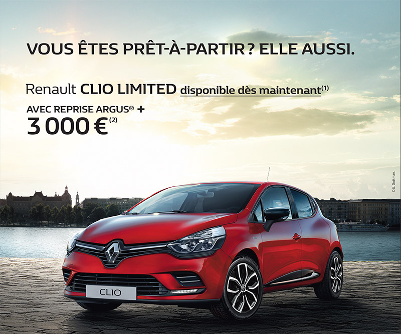 promotion renault clio limited renault saint germain en laye. Black Bedroom Furniture Sets. Home Design Ideas