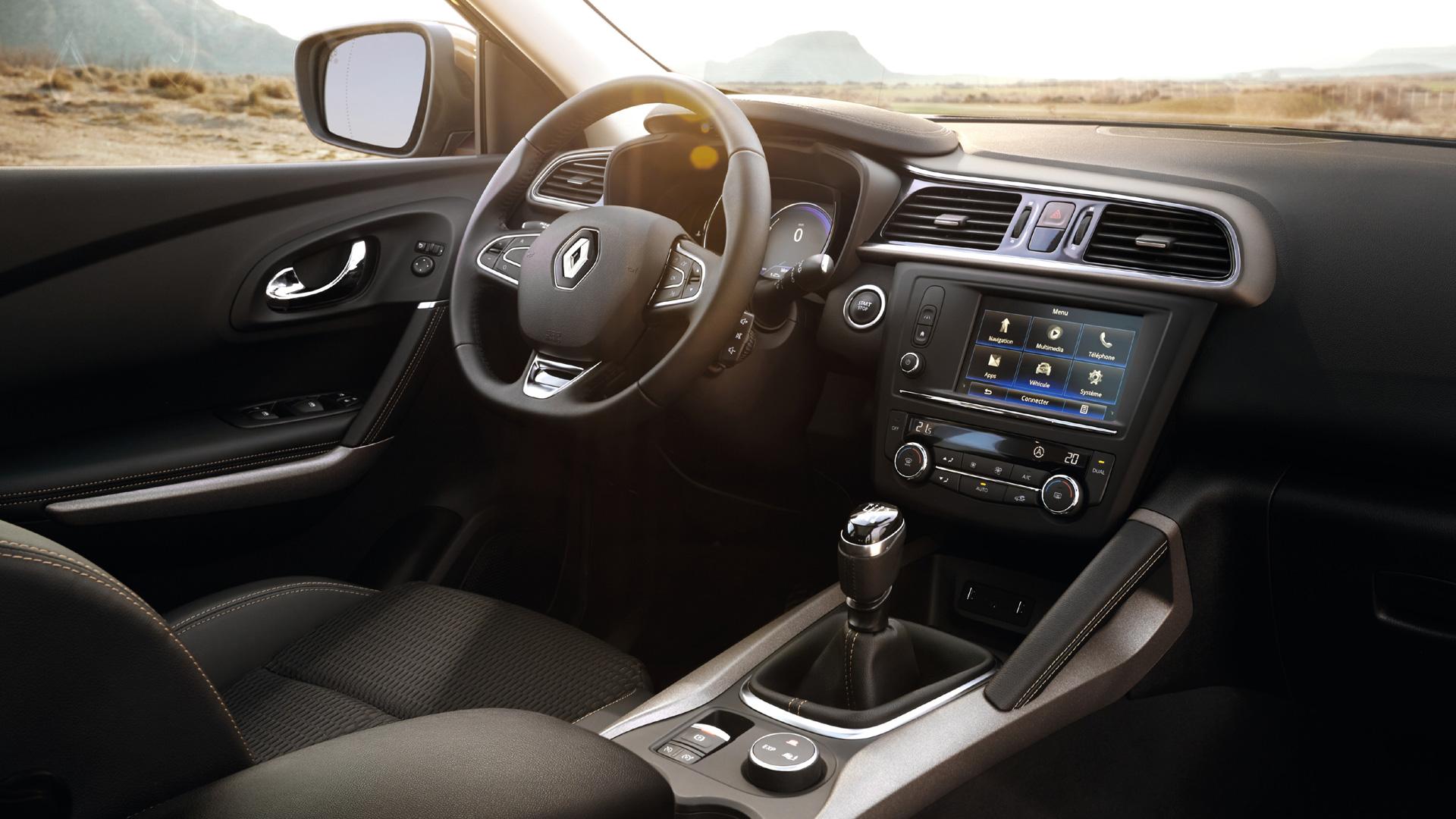 Renault kadjar renault chartres for Renault captur interieur cuir