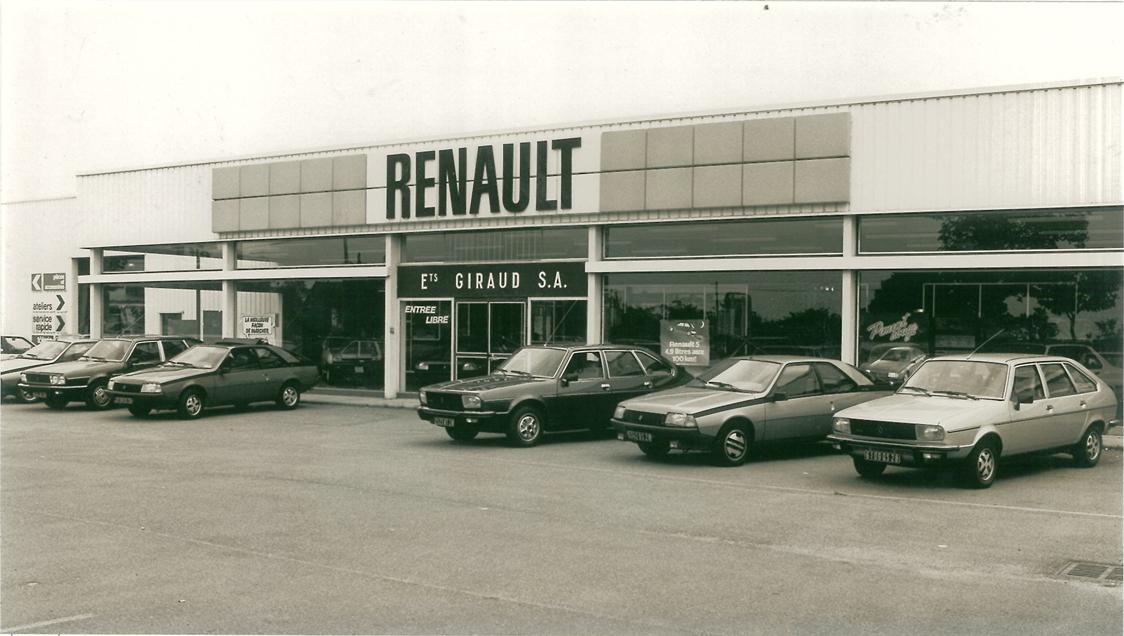 Historique renault ch teaudun etablissements giraud for Garage ad chateau renault