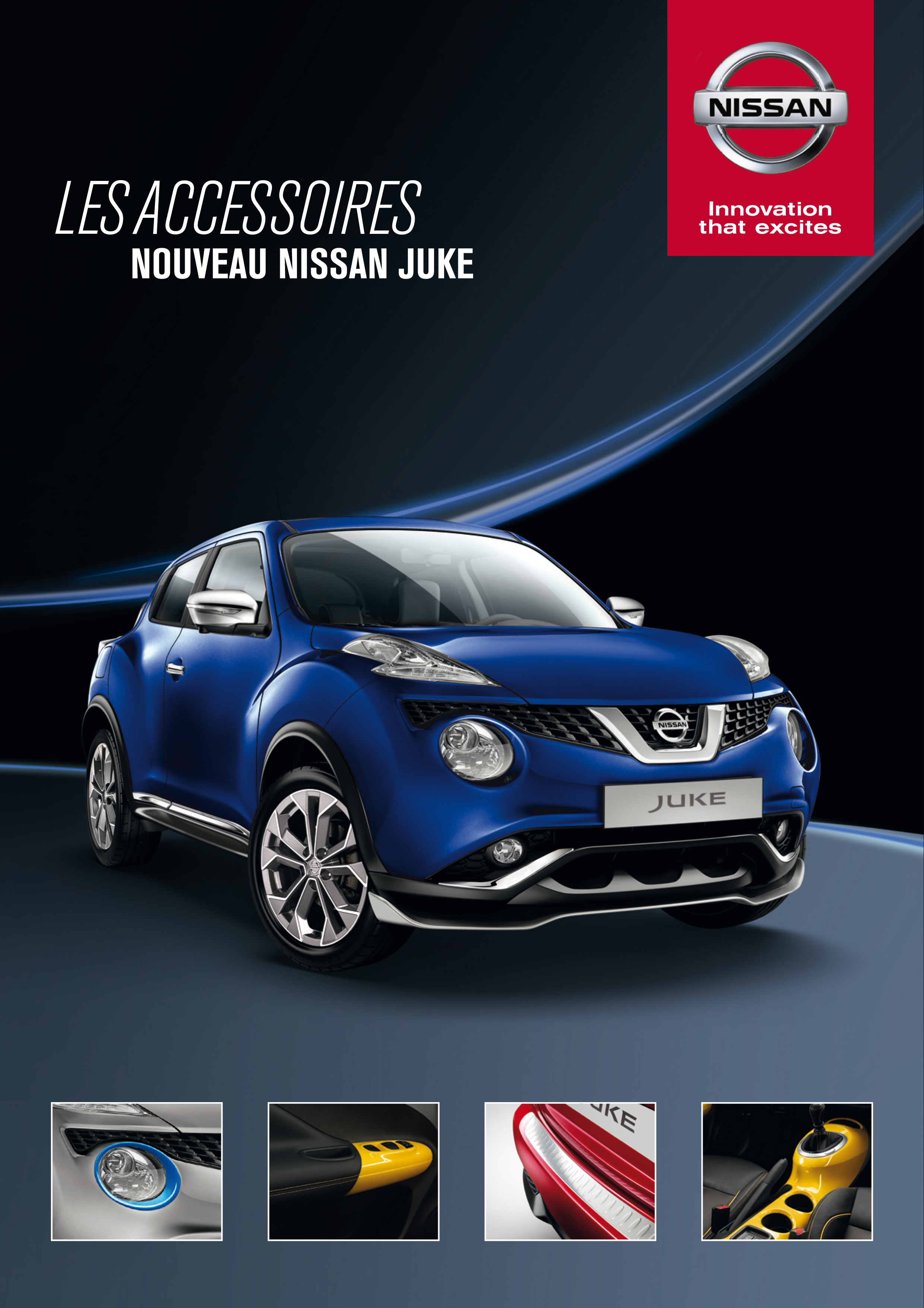 accessoires nouveau nissan juke nissan chartres fontenay sur eure. Black Bedroom Furniture Sets. Home Design Ideas