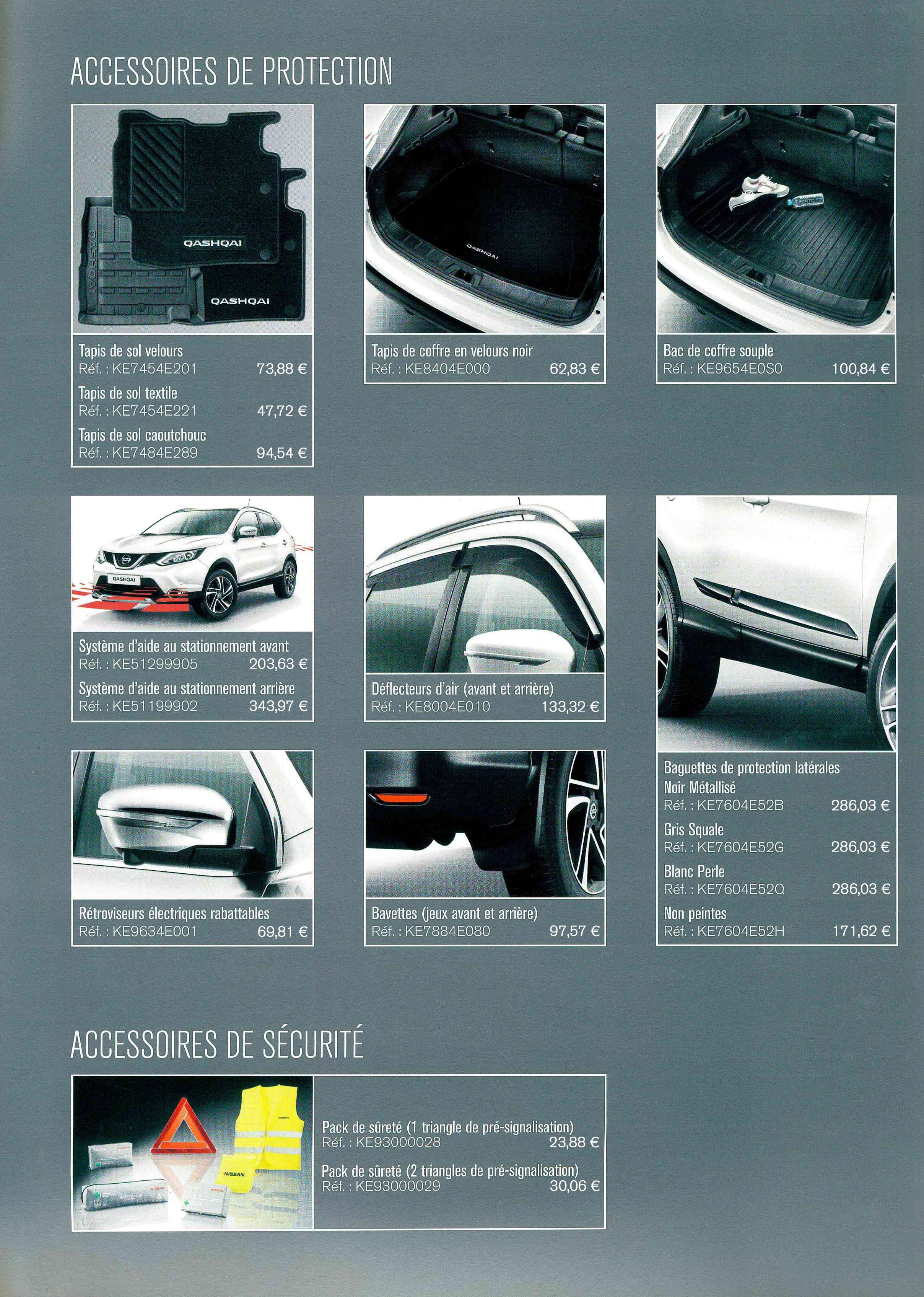 publier des informations sur remise spéciale remise spéciale de Accessoire Nouveau Qashqai chez Nissan Chartres | Nissan ...