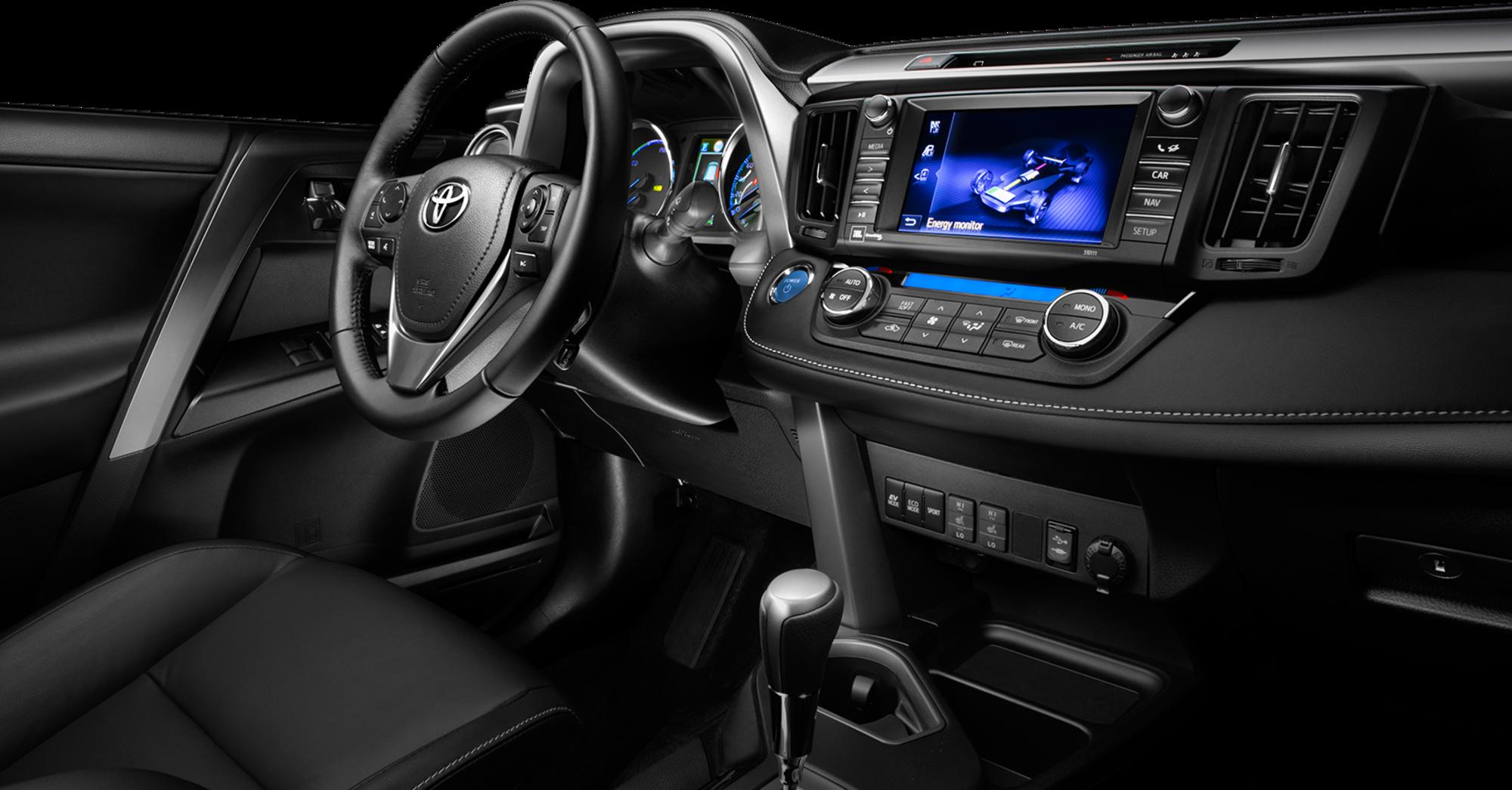 Toyota rav4 hybride toyota corbeil for Systeme interieur 2000