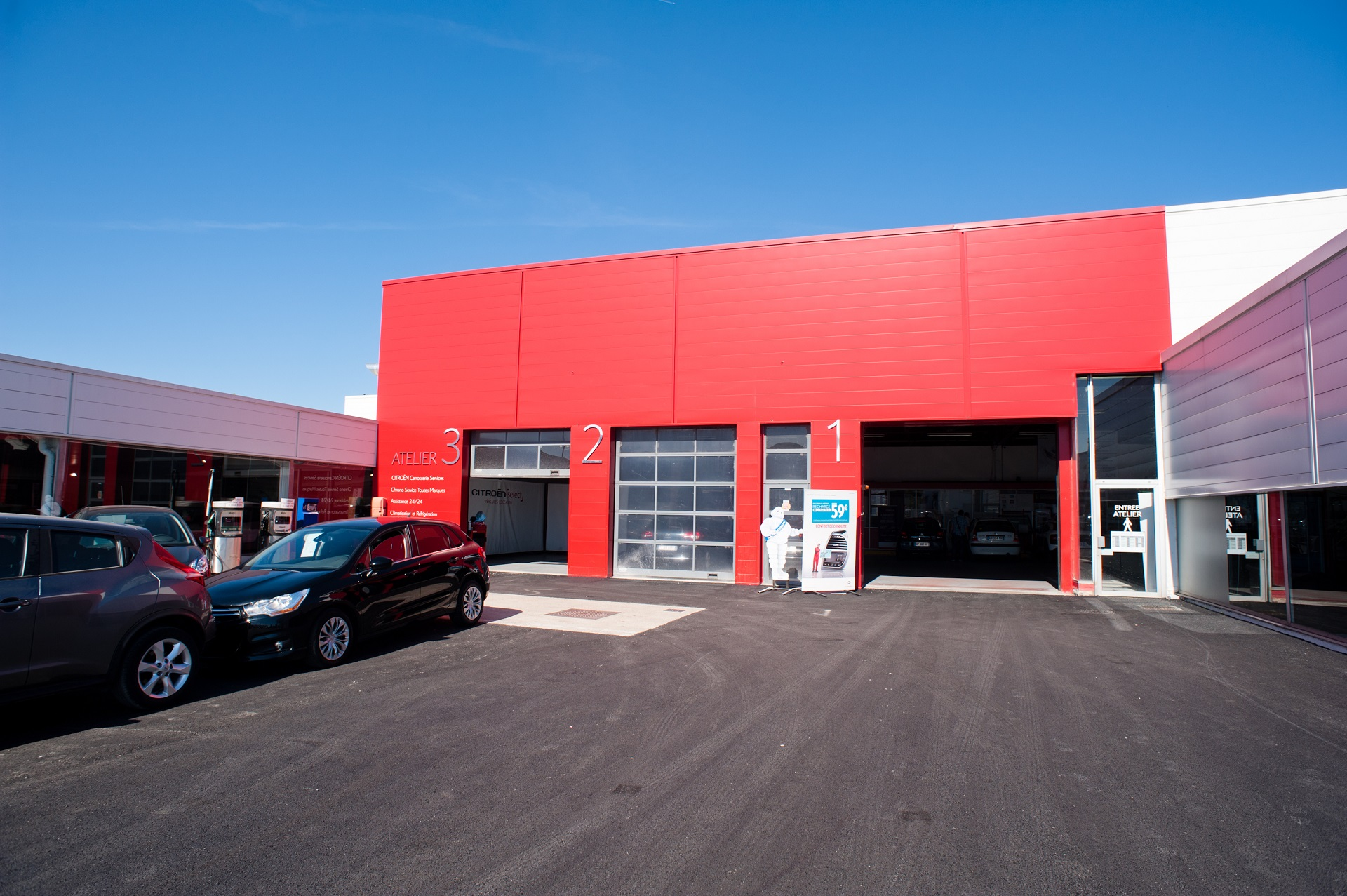 Concession citroen bourg en bresse sadal for Garage citroen crepy en valois