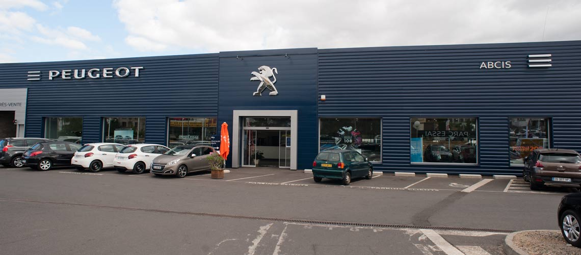 Concession Peugeot à Clermont Ferrand Abcis
