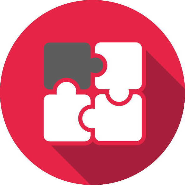 The total solution feature is symbolized by a puzzle icon