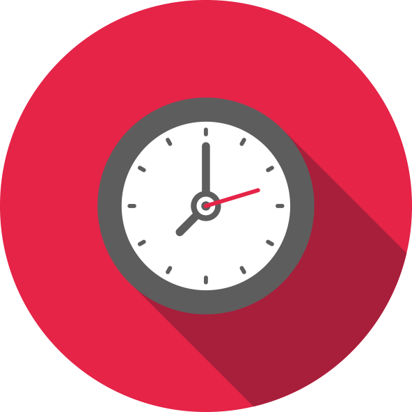 A clock icon for the Time-to-Market