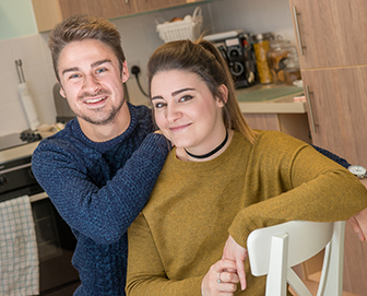 Shared Ownership Provides the Answer for Weymouth Couple
