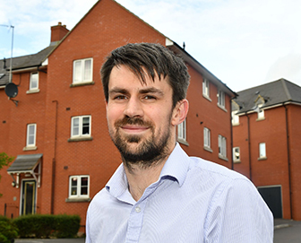 Wiltshire ex-serviceman steps on the ladder with shared ownership