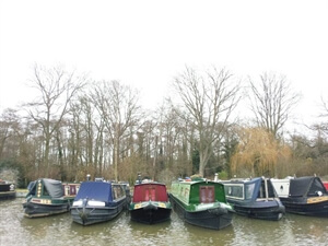 In photos: A day canal boating on the Wey