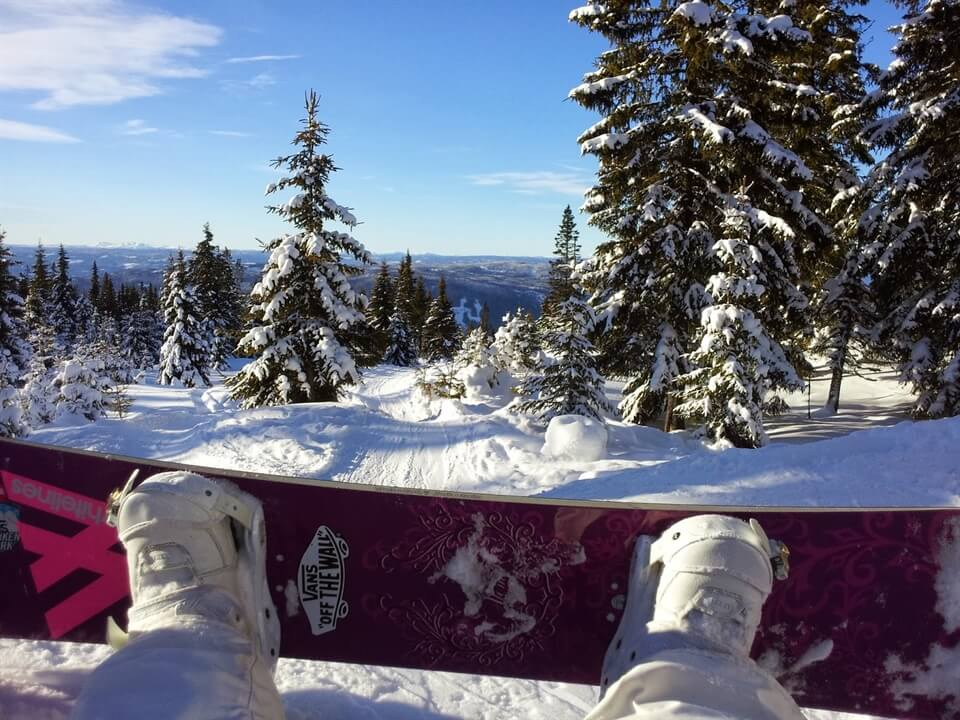In photos: Snowboarding in Hafjell, Norway