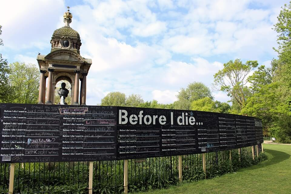 My Thoughts: What do you really want to do before you die?