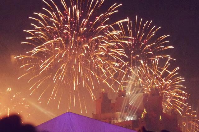 In photos: New Year's Eve Gala Dinner & Fireworks at Atlantis The Palm, Dubai