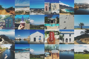 Twenty-four little photos from Cape Town