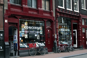 Amsterdam Travel: Concerto Music Store - Amsterdam's Best Music Shop