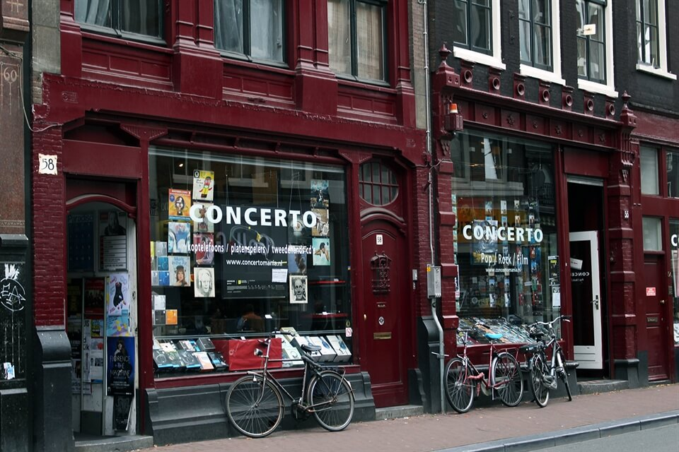 Amsterdam Travel: Concerto Music Store