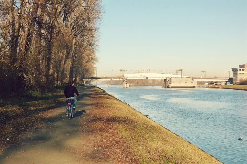 In photos: Cycling from Bruges to Zeebrugge