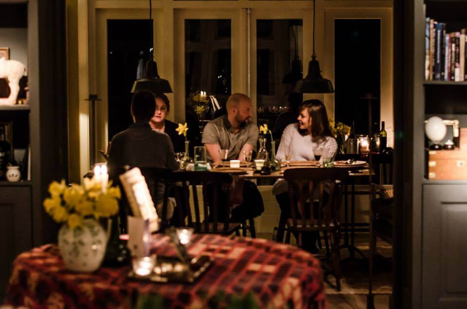 Life in Amsterdam: How to make friends in Amsterdam - Dinner with