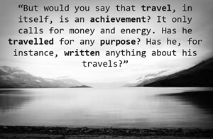 Travel Inspiration -Travel with Purpose: Write About It