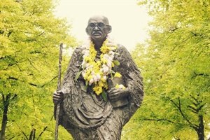 A photo from: Gandhi Statue in Amsterdam