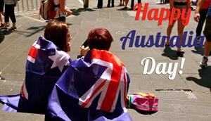 In photos:Australia Day in Melbourne