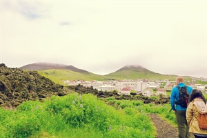 Travel Stories: Climbing a volcano on the Westman Islands, Iceland