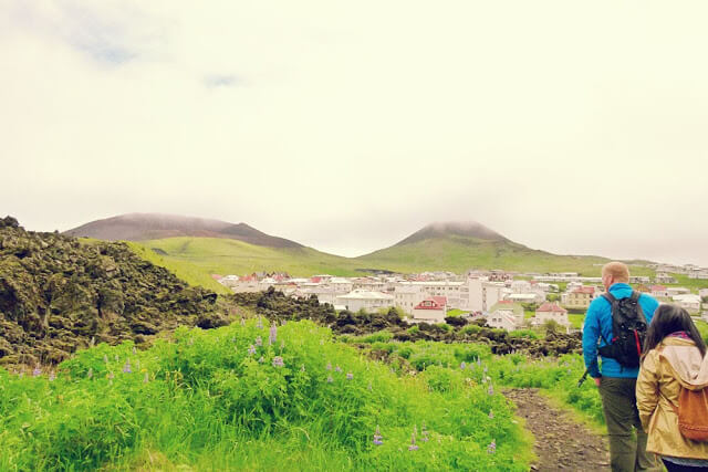Travel Stories:Climbing a volcano on the Westman Islands, Iceland