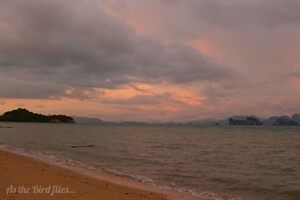 Searching for the sunset in Koh Yao Noi