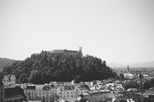 Travel Fiction: Waiting at the Bank of Ljubljana