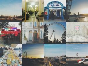 Twelve little photos from London