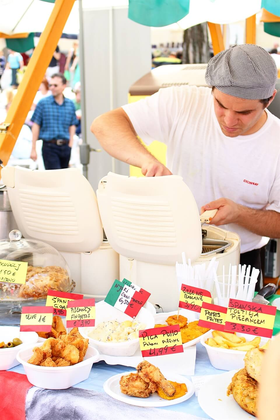 Travel: Ljubljana\'s Open Kitchen Food Market : As the Bird flies ...