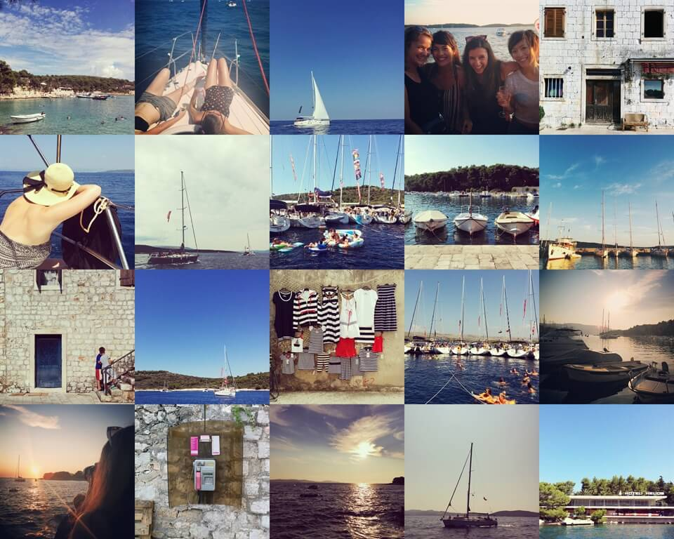 Twenty little photos from Croatia